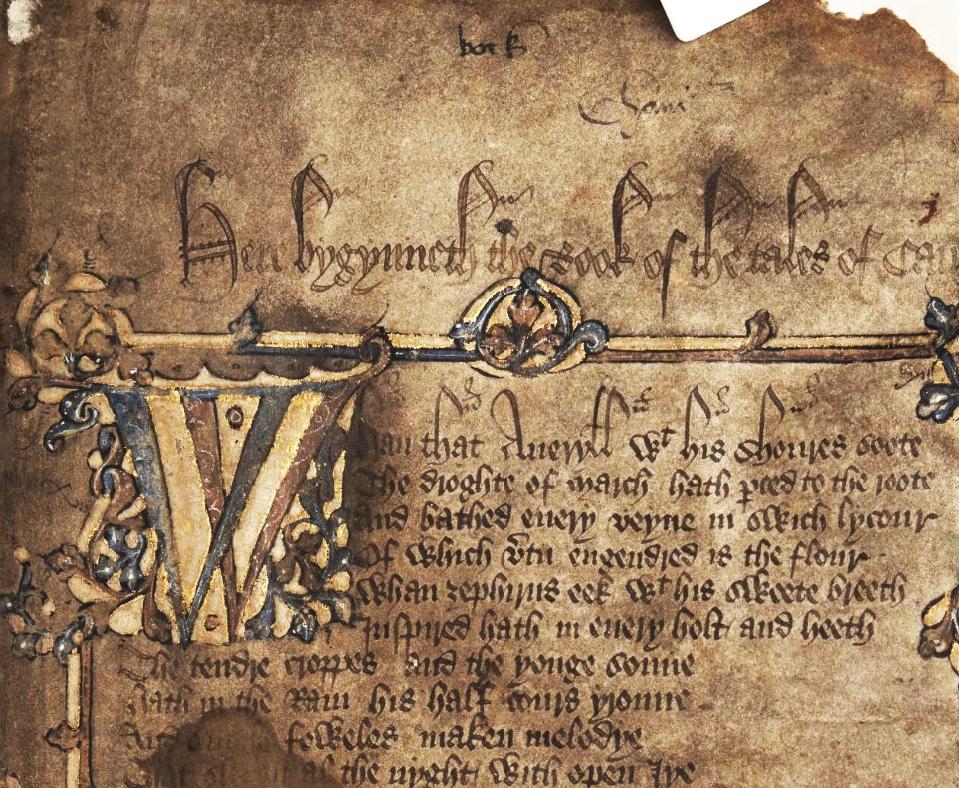 historische tekst met vernoeming mede